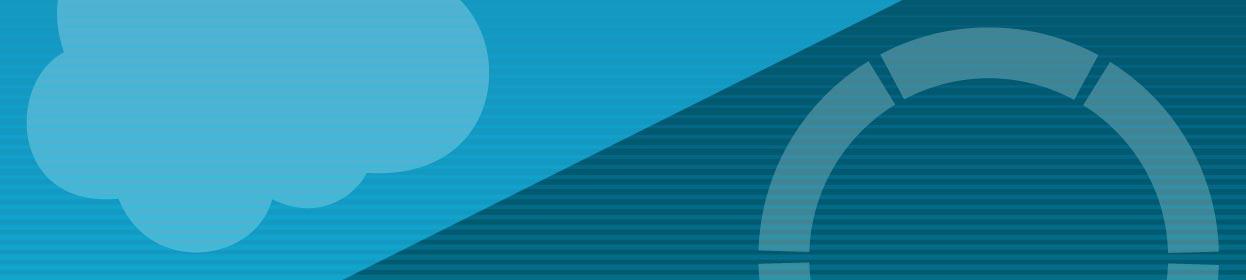 Background banner leaderboard for Salesforce Integration with OnBase