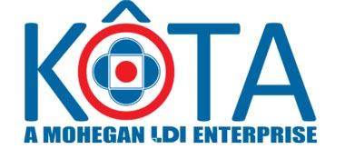 Logo for KÔTA, a Mohegan LDI Enterprise