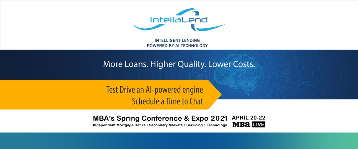Banner Pop-under for Event: MBA's Spring Conference & Expo 2021, April 20-22, Test Drive an AI-powered engine