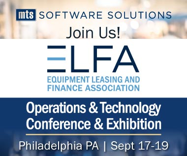 Rectangle Banner for Event: 2018 ELFA Operations and Technology Conference and ELFA Lease and Finance Accountants Conference, 9/17-19