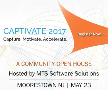 Rectangle Banner for Event: CAPTIVATE 2017 - Capture. Motivate. Accelerate