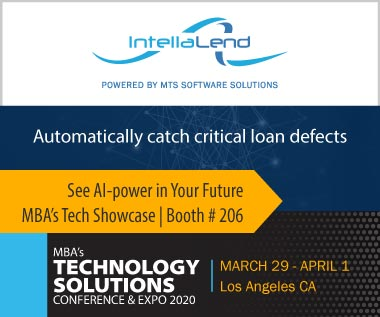 Banner Rectangle for Event: MBA's Technology Solutions Conference & Expo 2020, March 29 - April 1, Los Angeles CA