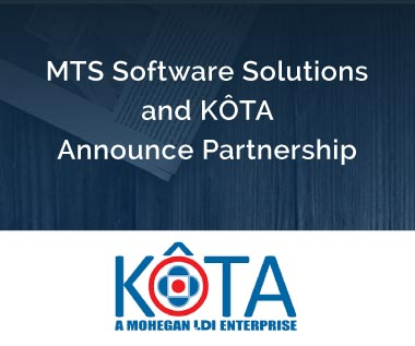 Banner rectangle for Press Release: MTS Software Solutions and KÔTA Announce Partnership