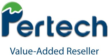 Logo for Pertech Value-Added Reseller (VAR)