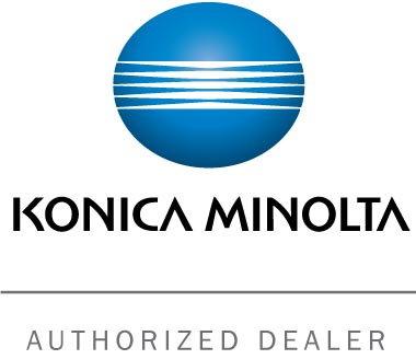 Logo for Konica Minolta Authorized Dealer