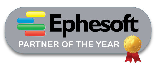 Logo for Ephesoft Partner of the Year Award