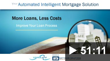 Thumbnail image for Video: Webinar - IntellaLend, More Loans, Less Costs